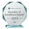 2013 Press Ganey Guardian of Excellence Award for patient satisfaction