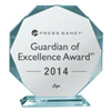 2014 Guardian of Excellence Award from Press Ganey